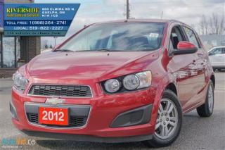 Used 2012 Chevrolet Sonic LT for sale in Guelph, ON