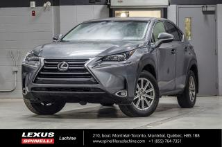 Used 2015 Lexus NX 200t SIGNATURE AWD; NULUXE CAMERA SIEGES CHAUFFANT CAMERA DE RECUL - BLUETOOTH - SIÈGES AVANT CHAUFFANTS for sale in Lachine, QC