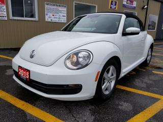 Used 2015 Volkswagen Beetle 1 OWNER OFF LEASE-BLUETOOTH-HEATED SEATS for sale in Tilbury, ON