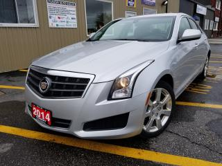 Used 2014 Cadillac ATS HEATED LEATHER-BLUETOOTH-INFO SYSTEM for sale in Tilbury, ON