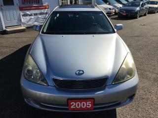 Used 2005 Lexus ES 330 AUTO/ LEATHER/ SUNROOF/ NAVIGATION/ ALLOYS! for sale in Scarborough, ON