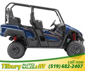 New 2019 Yamaha Wolverine X4 EPS SE 847 cc in-line twin cylinder engine for sale in Tilbury, ON