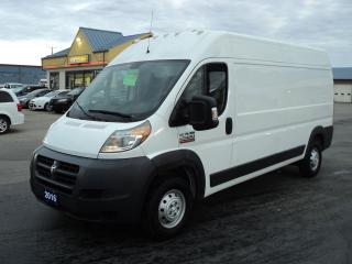 Used 2016 RAM ProMaster 2500 High Roof Cargo 3.6L 3Pass for sale in Brantford, ON