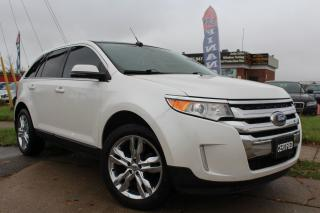 Used 2013 Ford Edge Limited-CLEAN CARFAX|NAV|CAM|LEATHER|SUNROOF for sale in Oakville, ON