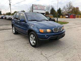 Used 2003 BMW X5 4.4I AWD for sale in Komoka, ON