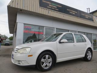 Used 2009 Volkswagen Golf Automatic,Alloys,A/C,POWER PACKAGE for sale in Mississauga, ON