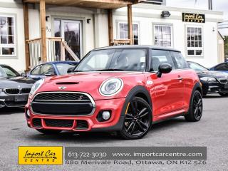 Used 2015 MINI Cooper Hardtop S JCW APPEARANCE PKG 6 SPEED CHILI RED WOW!! for sale in Ottawa, ON