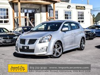 Used 2010 Pontiac Vibe GT MONSOON SOUND 18 ALLOYS LOW KMS WOW!! for sale in Ottawa, ON