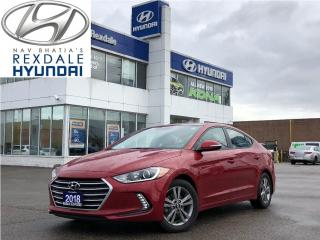 Used 2018 Hyundai Elantra GL SE, push button start for sale in Toronto, ON