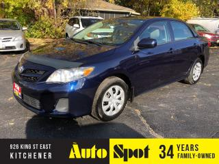 Used 2013 Toyota Corolla LE/CLEAN CARPROOF/PRICED-QUICK SALE! for sale in Kitchener, ON