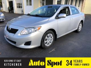 Used 2010 Toyota Corolla CE/LOW, LOW KMS/PRICED -QUICK SALE! for sale in Kitchener, ON