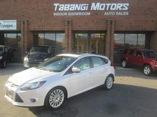 Used 2012 Ford Focus TITANIUM | NAVIGATION | LEATHER | SUNROOF | NO ACCIDENTS for sale in Mississauga, ON