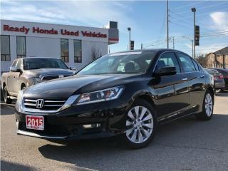 Used 2015 Honda Accord Sedan EX-L   Leather   Roof   Rear Camera for sale in Mississauga, ON