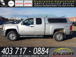 Used 2013 Chevrolet Silverado 2500 HD 4WD Ext Cab LT for sale in Calgary, AB