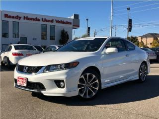 Used 2015 Honda Accord Coupe EX-L V6 w/Navi  | Leather | Skirt Pkg for sale in Mississauga, ON