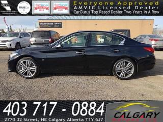 Used 2014 Infiniti Q50 4DR SDN AWD for sale in Calgary, AB