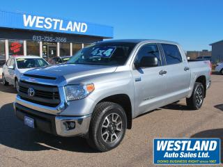 Used 2015 Toyota Tundra SR5 Crewmax 4x4 for sale in Pembroke, ON