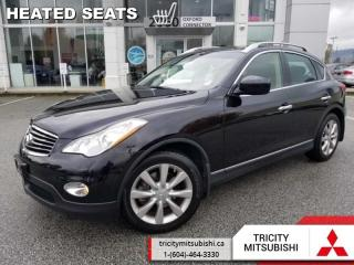 Used 2013 Infiniti EX37 BASE  - Leather Seats -  Heated Seats for sale in Port Coquitlam, BC
