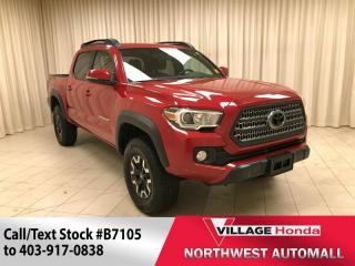 Used 2017 Toyota Tacoma TRD Off-Road Double Cab for sale in Calgary, AB