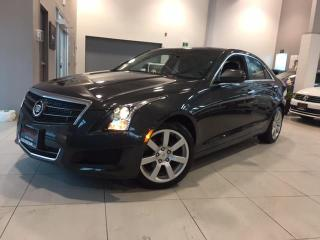 Used 2014 Cadillac ATS 2.5L-LEATHER-REMOTE START-FACTORY WARRANTY for sale in Toronto, ON