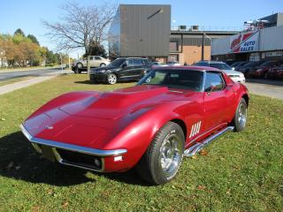Used 1968 Chevrolet Corvette StingRay ~HOOKER SIDE PIPES~MANUAL TRANS for sale in Toronto, ON