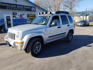 Used 2004 Jeep Liberty 166k 4x4 Safetied Renegade for sale in Madoc, ON