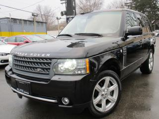 Used 2010 Land Rover Range Rover SUPERCHARGED ~ LOW KMS ~ 57,000KMS ~ NAVI !!! for sale in Burlington, ON