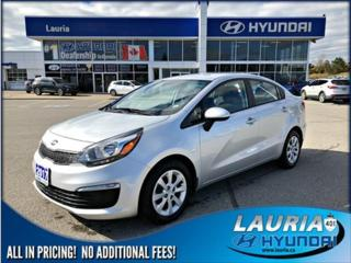 Used 2017 Kia Rio for sale in Port Hope, ON