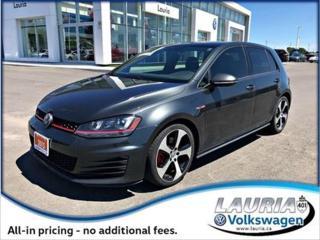 Used 2015 Volkswagen GTI for sale in PORT HOPE, ON