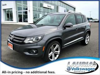 Used 2014 Volkswagen Tiguan for sale in PORT HOPE, ON