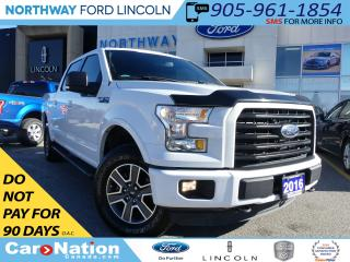 Used 2016 Ford F-150 XLT | V-8 | HTD SEATS | SPRAY BED | REMOTE START | for sale in Brantford, ON