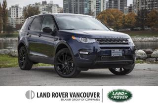 Used 2016 Land Rover Discovery Sport HSE Luxury Certified Pre-Owned! for sale in Vancouver, BC