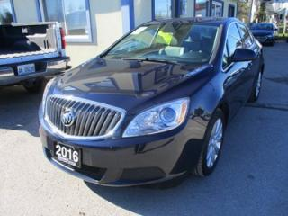 Used 2016 Buick Verano POWER EQUIPPED 'FUEL EFFICIENT' 5 PASSENGER 2.4L - ECO-TEC.. LEATHER TRIM.. CD/AUX/USB INPUT.. KEYLESS ENTRY.. for sale in Bradford, ON