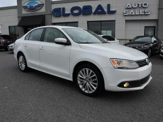 Used 2011 Volkswagen Jetta TDI HIGHLINE NAVIGATION 6 SPD. MANUAL . for sale in Ottawa, ON