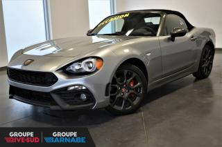 Used 2017 Fiat 124 Spider ABARTH*CONVERTIBLE*AUTOMATIQUE*COMME NEU for sale in St-Jean-Sur-Richelieu, QC