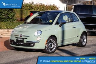 Used 2014 Fiat 500 Lounge Heated Seats & Sunroof for sale in Coquitlam, BC