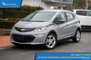 New 2019 Chevrolet Bolt EV LT Heated Seats, Heated Steering Wheel, Bluetooth for sale in Coquitlam, BC