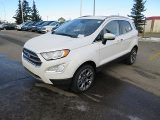 New 2018 Ford EcoSport Titanium 2.0l TI-VCT GDI I-4 ENGINE, VOICE ACTIVATED NAVIGATION, SYNC CONNECT for sale in Okotoks, AB