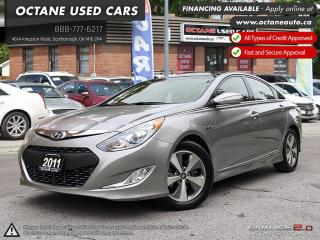 Used 2011 Hyundai Sonata Hybrid Premium HYBRID! ACCIDENT FREE! ONE OWNER! NAVI! BACK UP CAM! for sale in Scarborough, ON