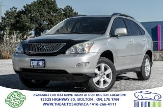 Used 2005 Lexus RX 330 PREMIUM PKG. ACCIDENT FREE SUNROOF CERTIFIED for sale in Bolton, ON
