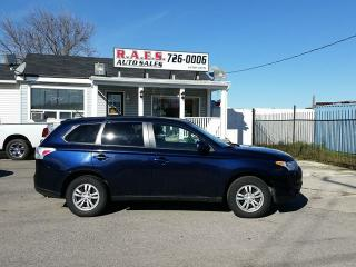 Used 2014 Mitsubishi Outlander ES AWD for sale in Barrie, ON