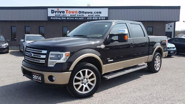 2014 Ford F-150 KING RANCH CREW 4X4 **NAV**ROOF**LEATHER**