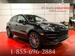 Used 2016 Porsche Macan TURBO + MOINS CHER AU CANADA !!! for sale in St-Basile-le-Grand, QC
