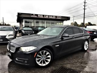 Used 2014 BMW 5 Series 528i xDrive|NAVI|SUNROOF|CLEANSUNROOF| for sale in Mississauga, ON