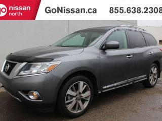 Used 2016 Nissan Pathfinder PLATINUM NAVIGATION 360 BIRDS EYE 3RD ROW SEAT POWER LIFT GATE & MORE for sale in Edmonton, AB