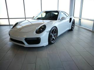 Used 2017 Porsche 911 TURBO | 18-way Seats | Full Leather & Carbon Interior | HIGH SPEC! for sale in Edmonton, AB