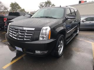 Used 2008 Cadillac Escalade ESV ESV BACKUP CAM NAV 2 TV's for sale in North York, ON