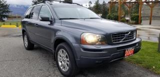 Used 2007 Volvo XC90 3.2 awd for sale in West Kelowna, BC