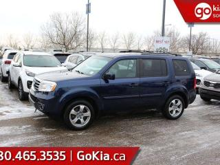 Used 2015 Honda Pilot EX-L; 8 PASS, BACKUP CAM, HEATED SEATS, BLUETOOTH, DVD PLAYER, LEATHER AND MORE for sale in Edmonton, AB