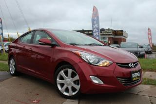 Used 2013 Hyundai Elantra Limited-1OWNER|CLEAN CARFAX|LEATHER|SUNROOF for sale in Oakville, ON